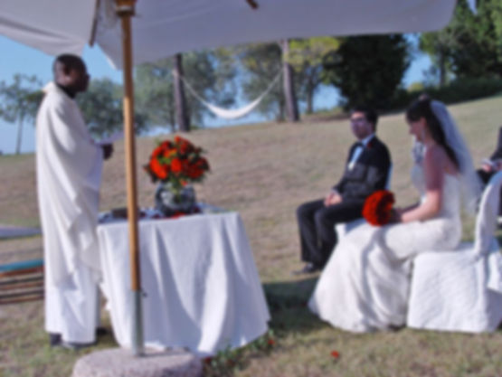 wedding in Tuscan villa for rent