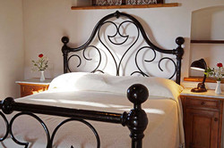 Villa rental with air conditioning