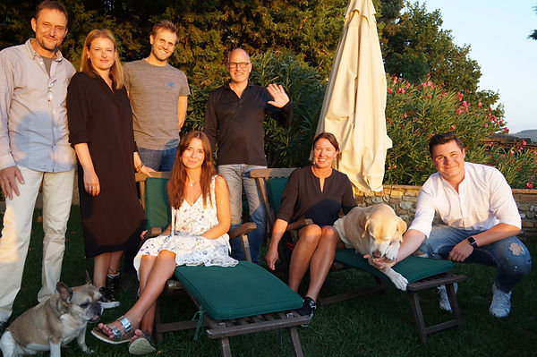 Andrea Keller at Villa Tuscany with pool and air conditioning