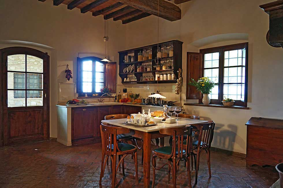 Luxury Tuscany villa rental