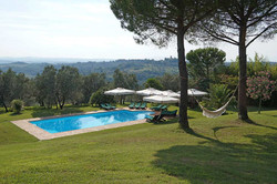 Villa rental with private pool