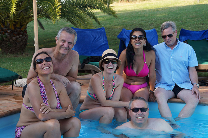 BEMMY MCALEER'S FRIENDS AT VILLA TUSCANY