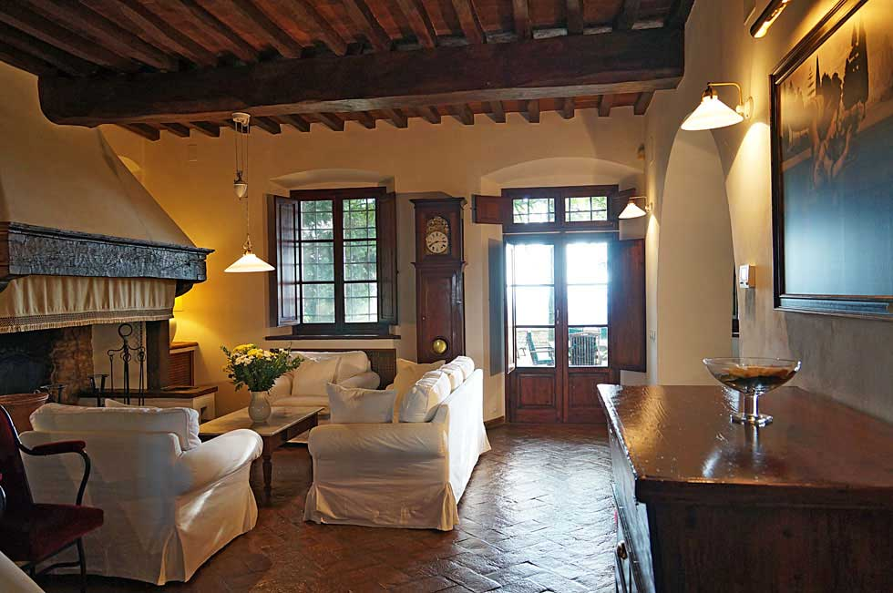 Tuscany villa rental with pool