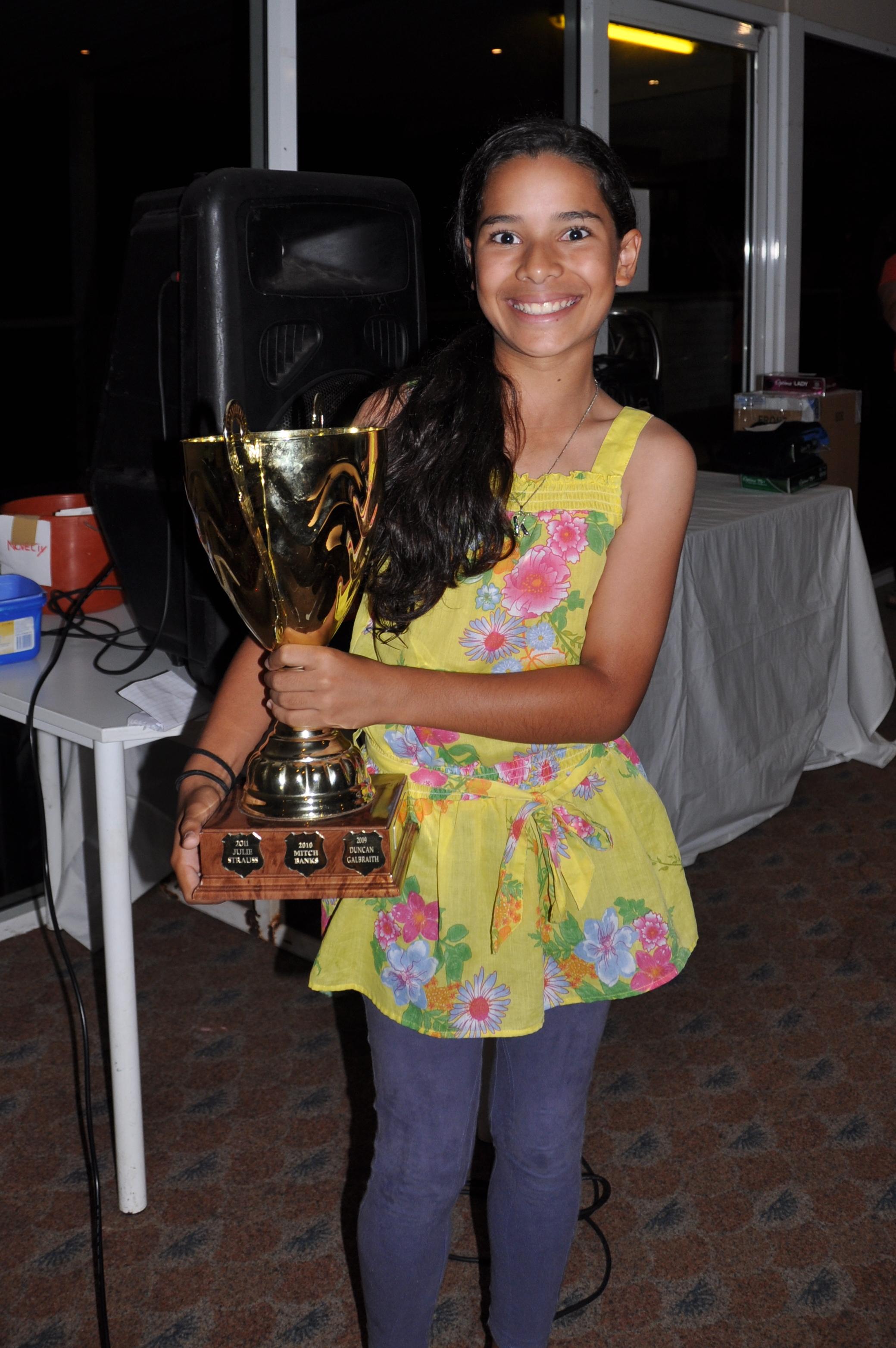 2013 Gove Open Winner Katelyn Rika