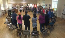 Circle at Rehearsal