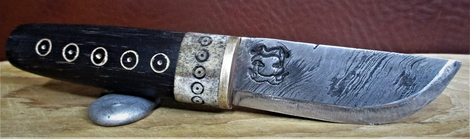 Viking style knife