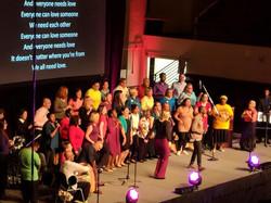 Choir at R&P