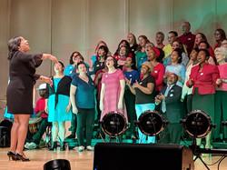Mayor and Choir Joy Nov 3 18