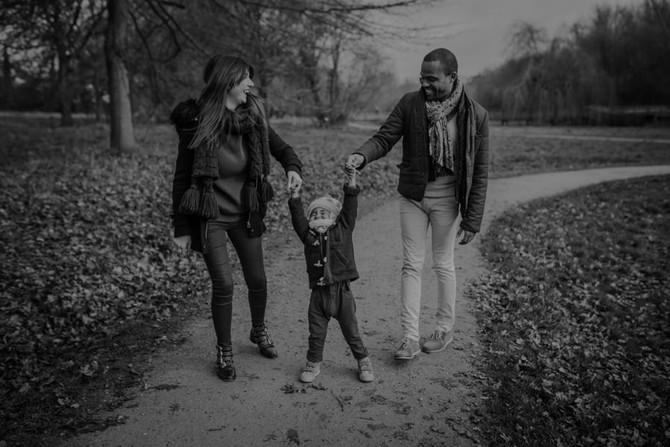 Reportage photo d'amour et de famille heureuse - Nantes