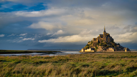 Mont Saint Michel Golden  2.jpg