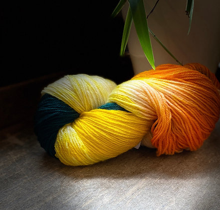 Hand-Dyed Colourway