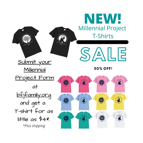 Millennial Descendants of BFJ T-Shirt