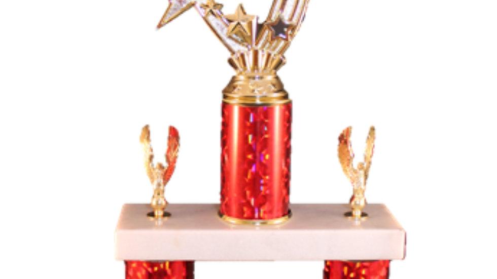 Double Column Trophy