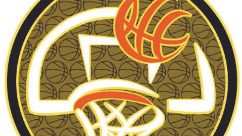 "2 1/2"" Basketball Design"