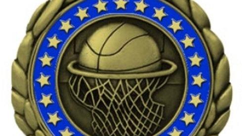 """2 1/2"""" QCM-3-D Medal"""