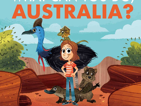 June Book Giveaway! What Can You Do, Australia?