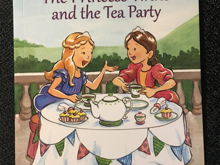 September Book Giveaway! - The Princess Twins and the Tea Party