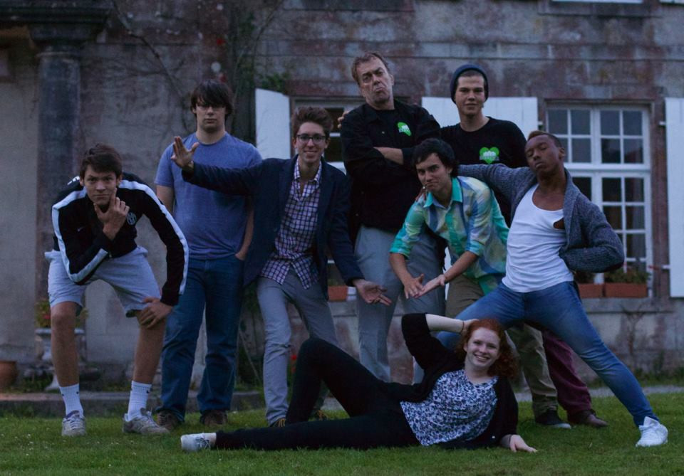 Our Improv Troupe following a Saturday Night performance.