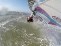 Windsurfen op Wijk