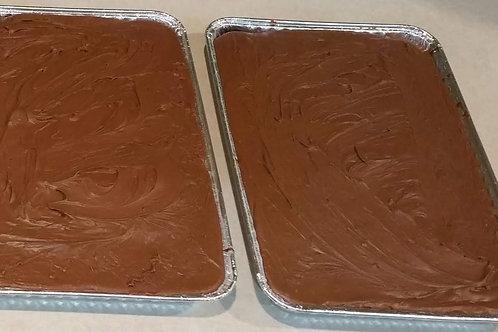 Chocolate Sheet Brownie