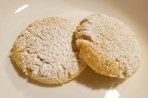 Powdered Lemon Shortbread
