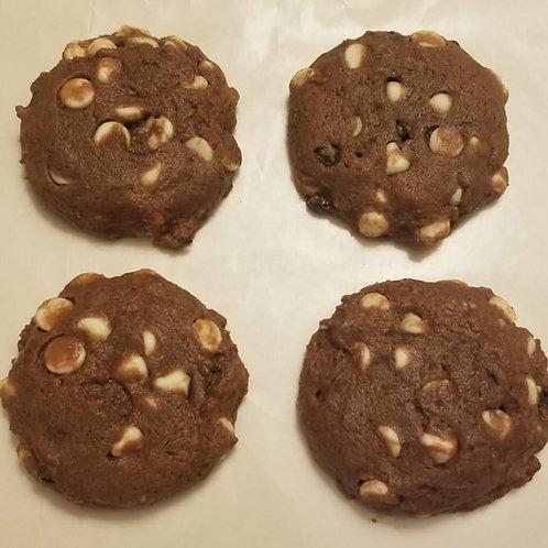 Vanilla Chip Chocolate Cheesecake Muffin Top