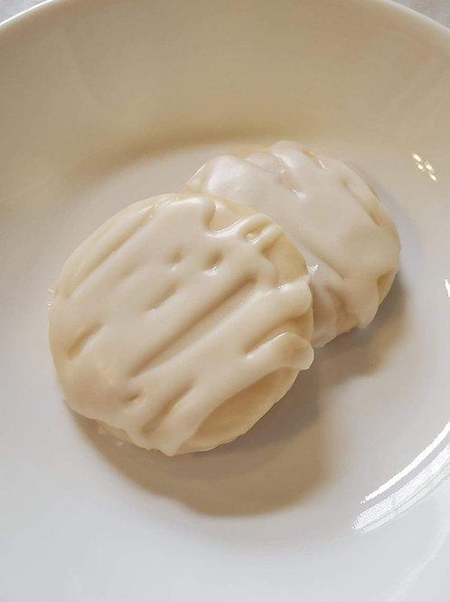 Iced Lemon Shortbread