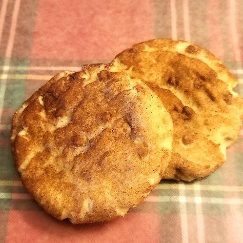 GF Cinnamon Chip Snickerdoodles