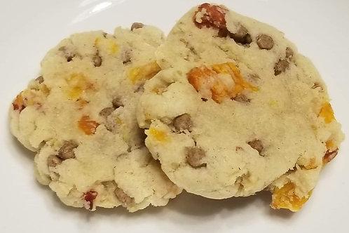Gluten-free Peach Cinnamon Chip Snickerdoodles