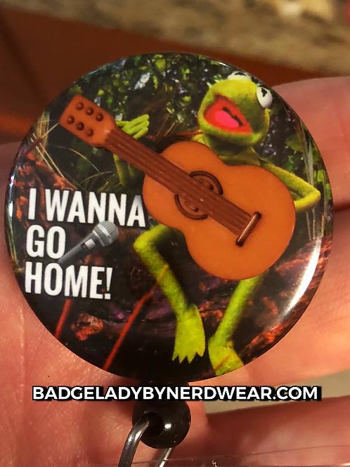 Singing Kermit with Miniature Guitar