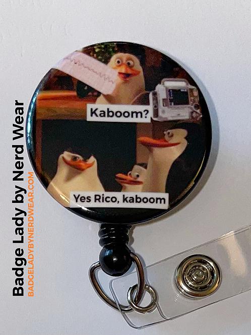 V-fib Kaboom Penguins - Madagascar - Medicine - EMS