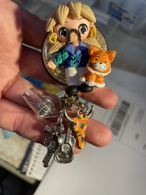Tiger King with Charms