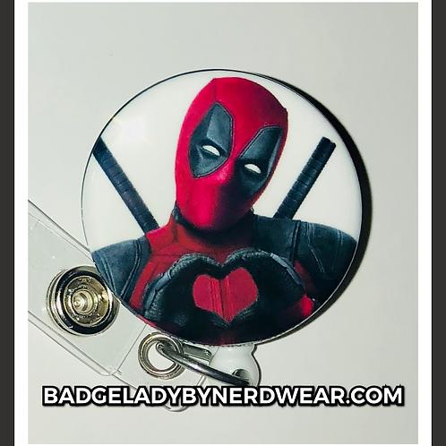 Deadpool Heart Hands