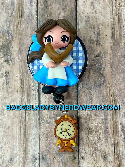 Belle - Clay Character
