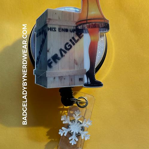 A Christmas Story - Fragile - Leg Lamp