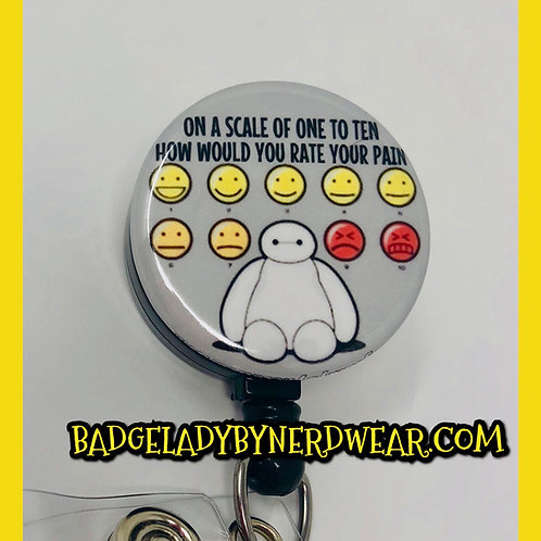 Baymax Pain Scale