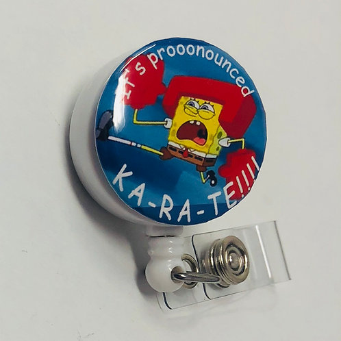 Spongebob Karate!