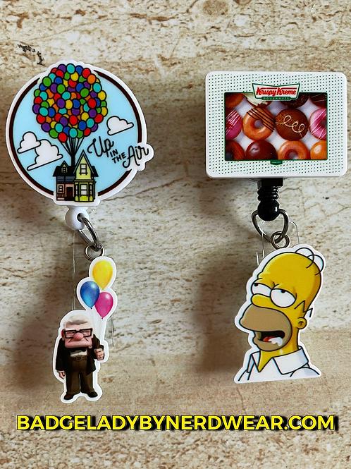 Cartoon Fun - Homer Simpson or Disney's Up