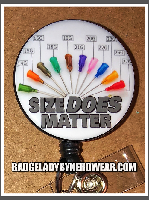 IV Size Does Matter