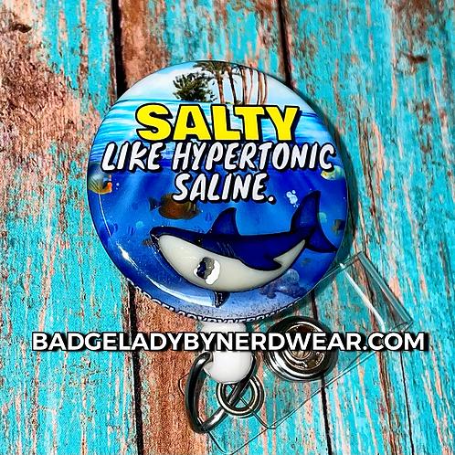 Salty The Hypertonic Shark