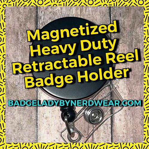 Magnetized Badge Holder