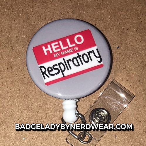 Hello My Name Is Respiratory