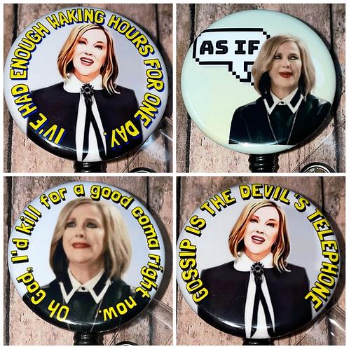Moira Schitt's Creek Magnet or Button
