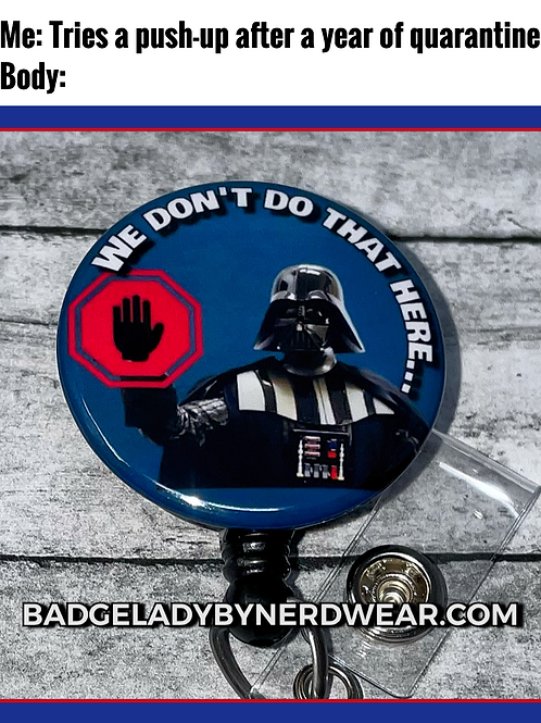 Darth Vader - Not Here