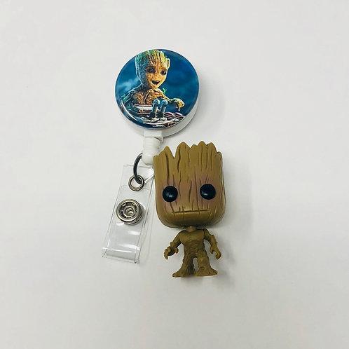 Groot with Mini Groot