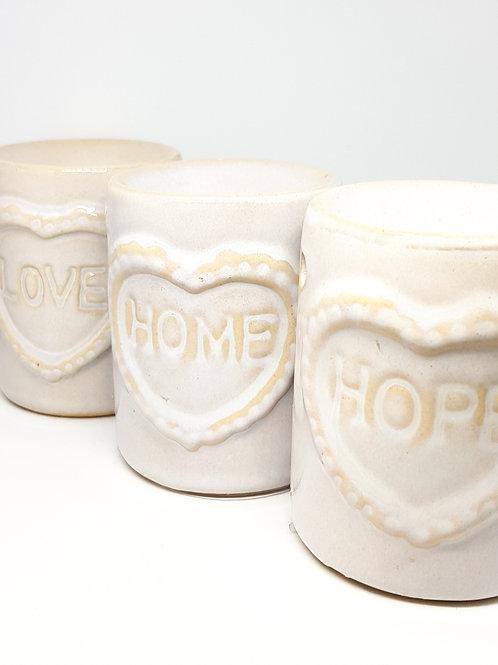 Home, Hope & Love Oil Burners