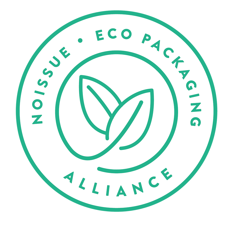 """Noissue eco packaging alliance"" logo"
