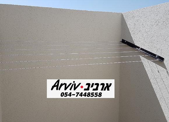 מתקן לתליית כביסה בין קירות