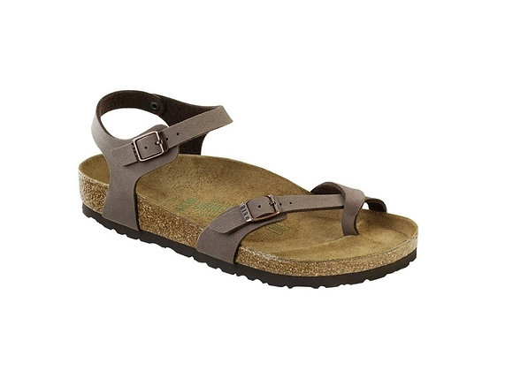 BIRKENSTOCK TAORMINA MOCCA 0310121 BIRKO FLOR, MADE IN GERMANY