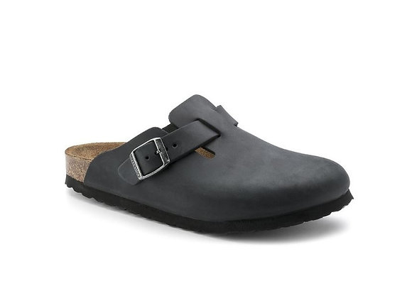 BIRKENSTOCK BOSTON BLACK  0059463, MADE IN GERMANY